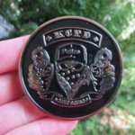 KANSAS CITY MISSOURI POLICE GANG SQUAD COIN POLICE BADGES